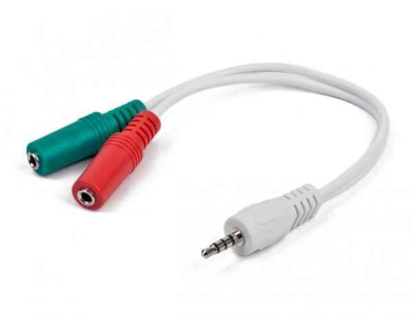 Купить Аудіо-кабель Cablexpert CCA-417W ☎ (067) 467 25 28 ✓ лучшие цены ✓ постоянные акции и скидки ✓ отзывы ✓ точка выдачи в Киеве