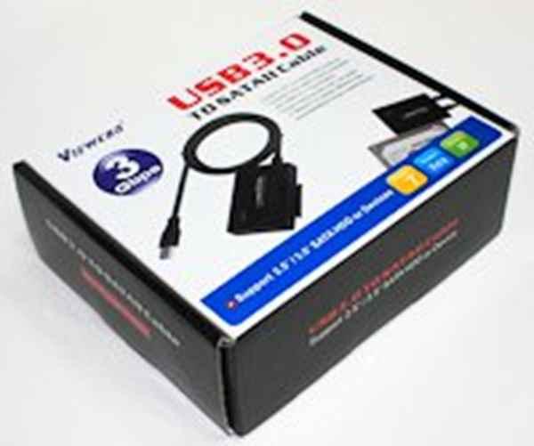 Купить Адаптер Viewcon VE 600 USB3.0 - SATA II ☎ (067) 467 25 28 ✓ лучшие цены ✓ постоянные акции и скидки ✓ отзывы ✓ точка выдачи в Киеве