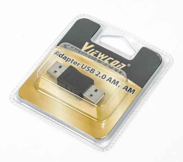 Купить Адаптер Viewcon VA 067 USB AM-AM ☎ (067) 467 25 28 ✓ лучшие цены ✓ постоянные акции и скидки ✓ отзывы ✓ точка выдачи в Киеве