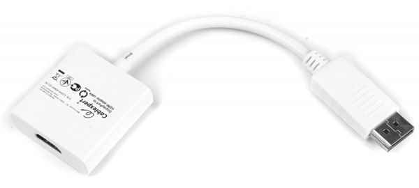 Купить Адаптер-перехідник DisplayPort на HDMI Cablexpert A-DPM-HDMIF-002-W ☎ (067) 467 25 28 ✓ лучшие цены ✓ постоянные акции и скидки ✓ отзывы ✓ точка выдачи в Киеве