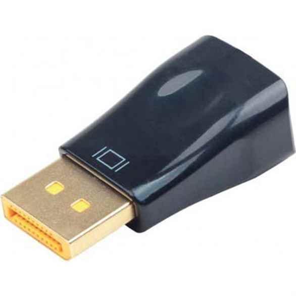 Купить Адаптер-перехідник DisplayPort на VGA Cablexpert A-DPM-VGAF-01 ☎ (067) 467 25 28 ✓ лучшие цены ✓ постоянные акции и скидки ✓ отзывы ✓ точка выдачи в Киеве
