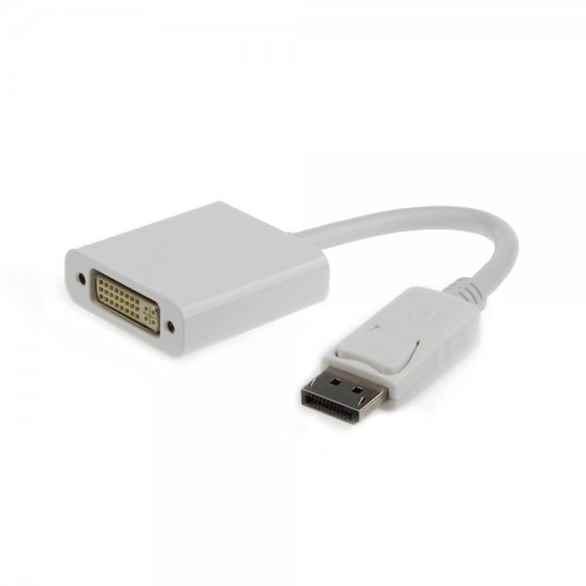 Купить Адаптер-перехідник DisplayPort на DVI Cablexpert A-DPM-DVIF-002-W ☎ (067) 467 25 28 ✓ лучшие цены ✓ постоянные акции и скидки ✓ отзывы ✓ точка выдачи в Киеве
