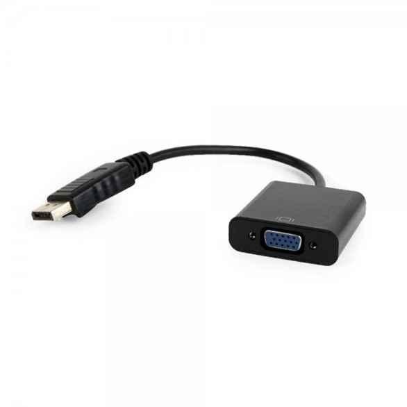 Купить Адаптер-перехідник DisplayPort на VGA Cablexpert A-DPM-VGAF-02 ☎ (067) 467 25 28 ✓ лучшие цены ✓ постоянные акции и скидки ✓ отзывы ✓ точка выдачи в Киеве