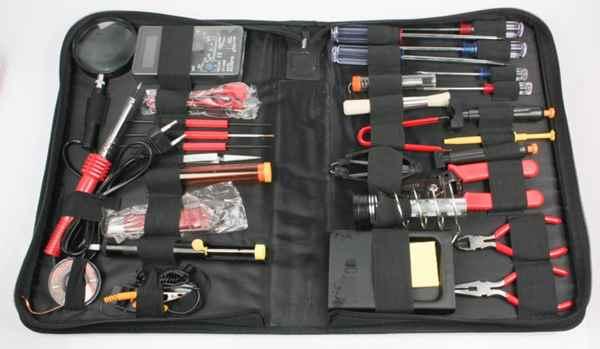 Купить Набір інструментів для пайки Cablexpert TK-SOLDER (28 інструментів) ☎ (067) 467 25 28 ✓ лучшие цены ✓ постоянные акции и скидки ✓ отзывы ✓ точка выдачи в Киеве