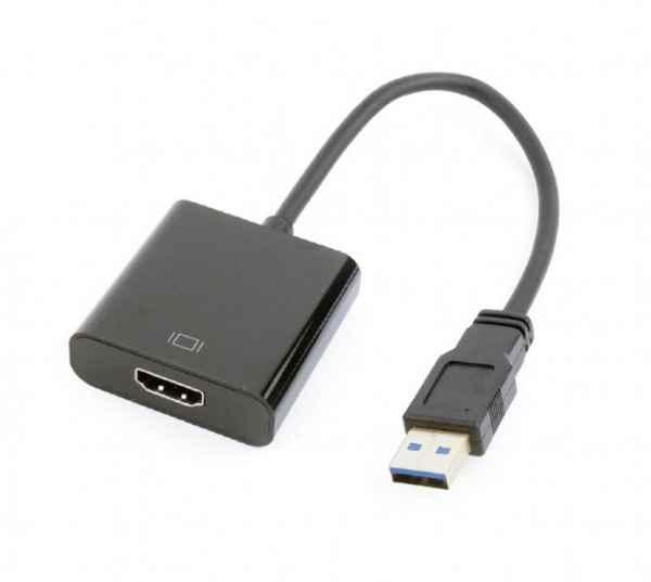 Купить Адаптер-перехідник USB на HDMI Cablexpert A-USB3-HDMI-02 ☎ (067) 467 25 28 ✓ лучшие цены ✓ постоянные акции и скидки ✓ отзывы ✓ точка выдачи в Киеве