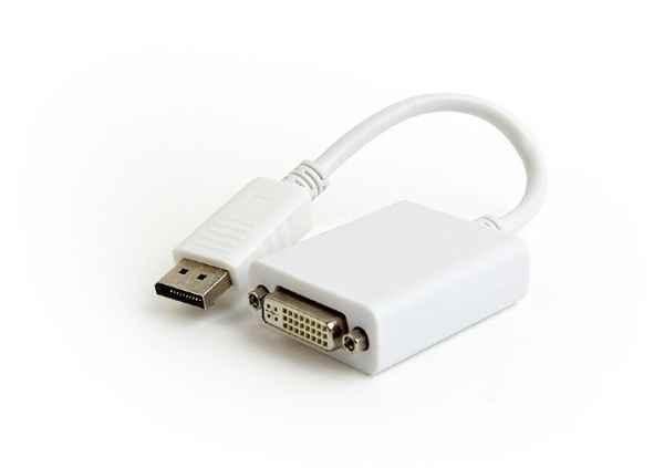 Купить Адаптер-перехідник DisplayPort на DVI Cablexpert A-DPM-DVIF-03-W ☎ (067) 467 25 28 ✓ лучшие цены ✓ постоянные акции и скидки ✓ отзывы ✓ точка выдачи в Киеве