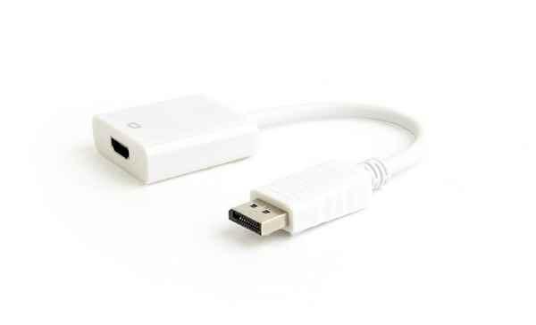 Купить Адаптер-перехідник DisplayPort на HDMI A-DPM-HDMIF-03-W ☎ (067) 467 25 28 ✓ лучшие цены ✓ постоянные акции и скидки ✓ отзывы ✓ точка выдачи в Киеве