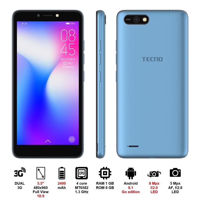 Купить Смартфон TECNO B1 DUALSIM City Blue недорого ☎ (066) 882 49 97 ✓ лучшие цены ✓ бесплатная доставка по Украине ✓ отзывы и фото ✓ точка выдачи в Киеве