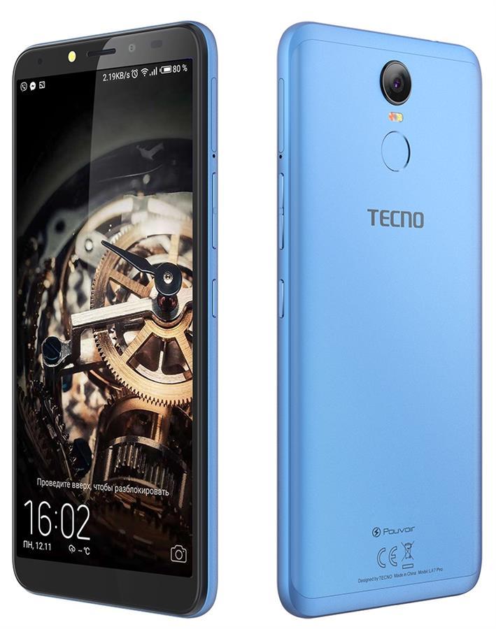 Купить Смартфон TECNO Pouvoir 2 Pro 3/32GB (LA7 pro) DUALSIM City Blue недорого ☎ (066) 882 49 97 ✓ лучшие цены ✓ бесплатная доставка по Украине ✓ отзывы и фото ✓ точка выдачи в Киеве